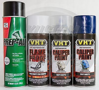 1 Kit - VHT - Bright Blue Caliper Drum Paint ESW362, SP118, SP730, SP732 - Kustom Paint Supply