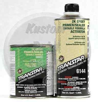 TRANSTAR 6134 6144 2k Epoxy Gray Primer / Sealer 1Qt Kit