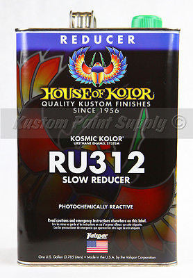 House of Kolor RU312 Kosmic Kolor  Slow Dry Reducer  1 Gallon
