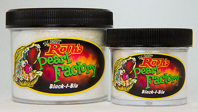 2oz - Lil' Daddy Roth Pearl Factory Diamond Pearl - Black-I-Blu - Kustom Paint Supply