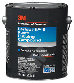 3M 05983 Perfect-It II - Rubbing Compound  1Gal. - Kustom Paint Supply