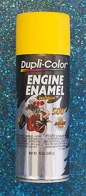 Dupli-Color Engine Enamel Paint DM1642 -  Daytona Yellow - Kustom Paint Supply