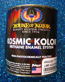House of Kolor UK02 Kandy Lime Gold Kosmic Kolor  1 Quart