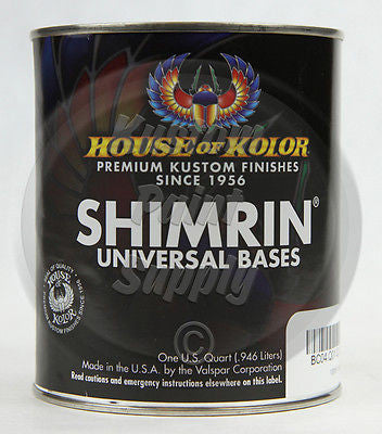 House of Kolor PBC37  Majik Blue Pearl Shimrin Basecoat 1 Quart