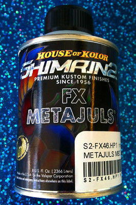 House of Kolor S2-FX46 Green Shimrin2 FX Metajuls Basecoat 1HP