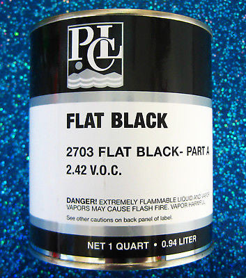PCL 2703 Single Stage Flat Black Quart