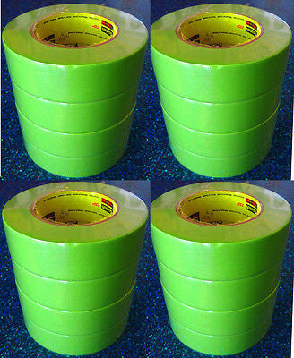 3M 26338 1 1/2'' Scotch- Performance Masking Tape 233+  Green 1 Case/16 Rolls