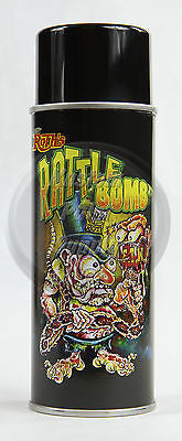 Lil' Daddy Roth Rattle Bomb Base - Surfite Silver - 12oz Aerosol