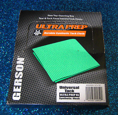 GERSON 020008G Ultra Prep Green Tack Cloth 1 BOX - Kustom Paint Supply