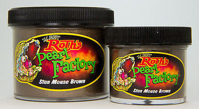 2oz - Lil' Daddy Roth Pearl Factory Standard Pearl - Stan Mouse Brown - Kustom Paint Supply