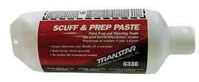 TRANSTAR Scuff & Prep Paste 6338 25oz Tube