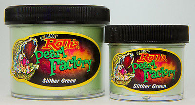 2oz - Lil' Daddy Roth Pearl Factory Standard Pearl - Slither Green - Kustom Paint Supply
