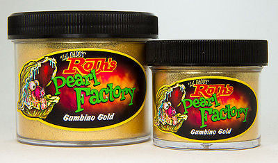 1oz - Lil' Daddy Roth Pearl Factory Standard Pearl - Gambino Gold - Kustom Paint Supply