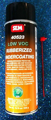 SEM 40523 LOW VOC RUBBERIZED UNDERCOATING AREOSOL