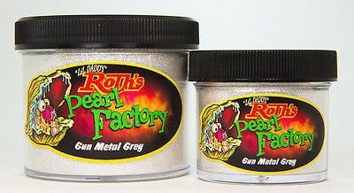 1oz - Lil' Daddy Roth Pearl Factory Standard Pearl - Gun Metal Grey - Kustom Paint Supply