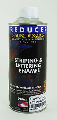 House of Kolor U00 Striping & Lettering Enamel Striping Reducer  1Pt