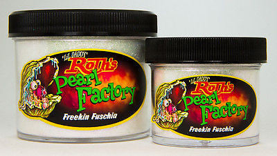 1oz - Lil' Daddy Roth Pearl Factory Diamond Pearl - Freekin Fuschia - Kustom Paint Supply