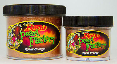 1oz - Lil' Daddy Roth Pearl Factory Standard Pearl - Agent Orange - Kustom Paint Supply