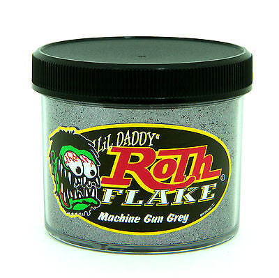 Lil' Daddy Roth Metal Flake Standard Series Machine Gun Grey 2oz