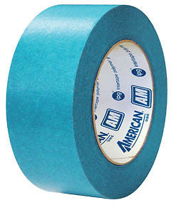 American Tape 1 1/2'' AM3655 Aqua Mask   1 CASE/24 ROLLS - Kustom Paint Supply