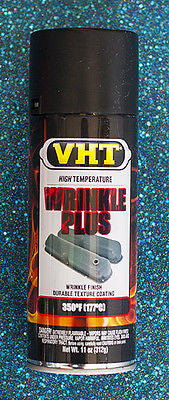 VHT SP201 Wrinkle Plus Black High Temp 11 oz