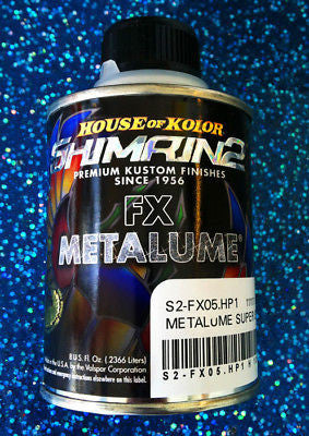 House of Kolor S2-FX05 Super Silver Shimrin2 FX Metalume 1HP