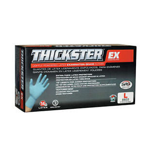 SAS 6605 Thickster Latex 50 Gloves XXL