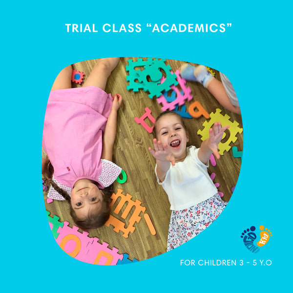 TRIAL- Reading and Math class for 3 - 5 y.o. in Russian 'Академики'
