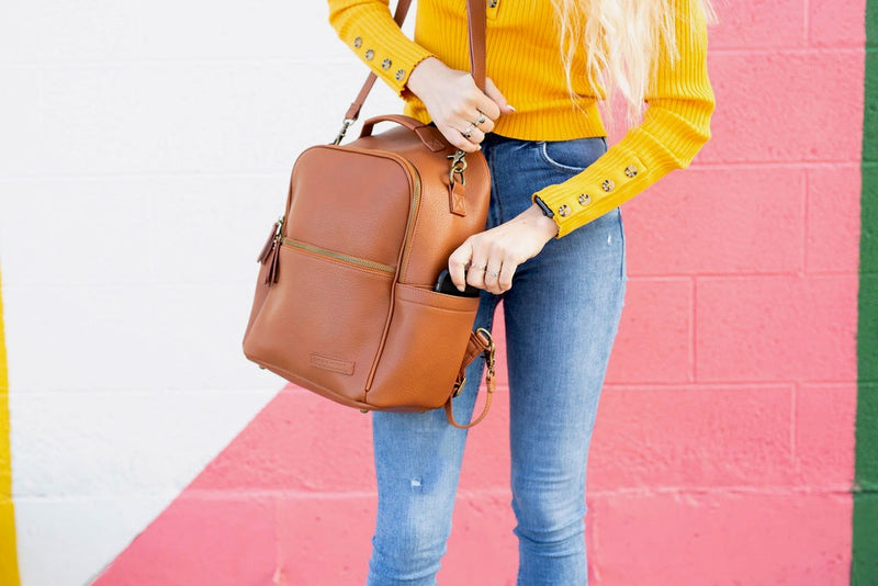 The Joni Backpack in Camel