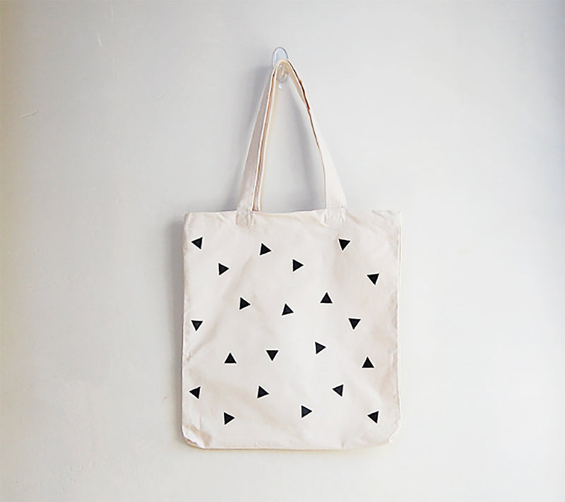 Scattered Triangle Tote