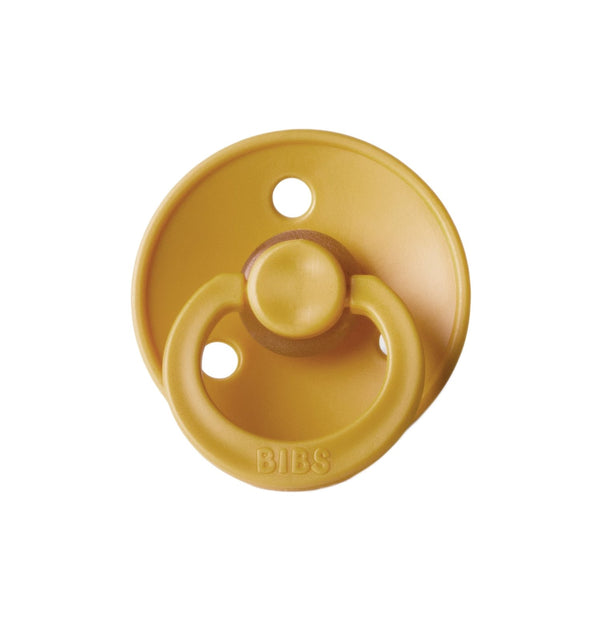 Bibs Pacifier in Mustard