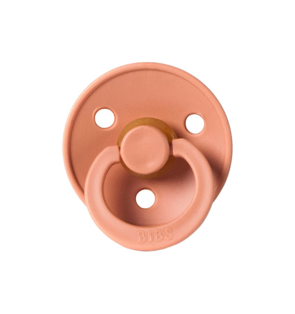 Bibs Pacifier in Peach