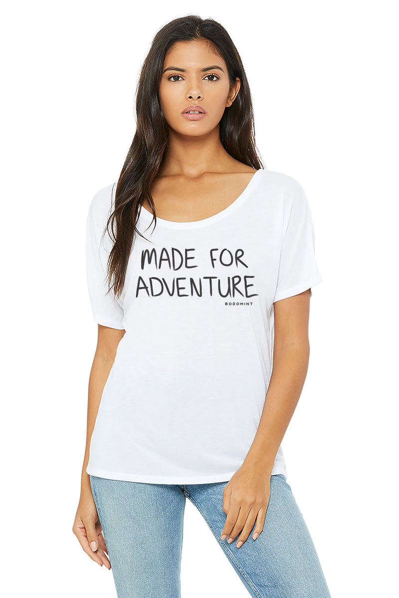 Women's Made For Adventure Tee Size L