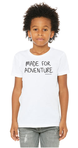 Youth Made For Adventure Tee Size S