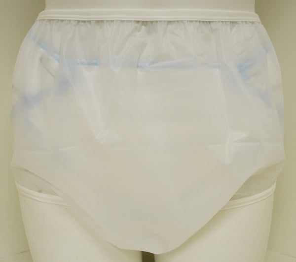 6 Mil White Plastic Pants