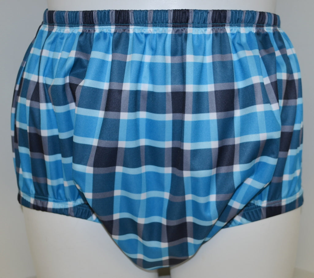 PUL Pant - Blue Plaid