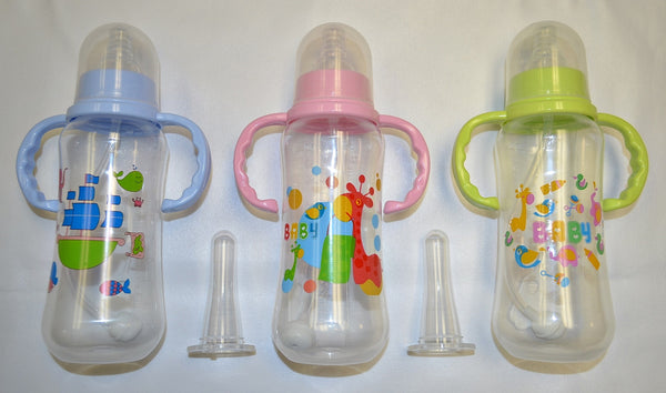 Baby Bottle (280 ml) - Nursey Prints