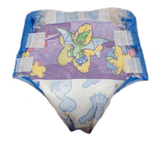 Disposable Diaper - ABU DinoRawrZ - 2