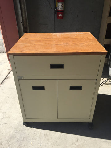Rolling 2-Drawing Filing Cabinet #50174