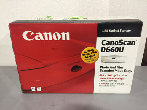 Canon Scanner #50193