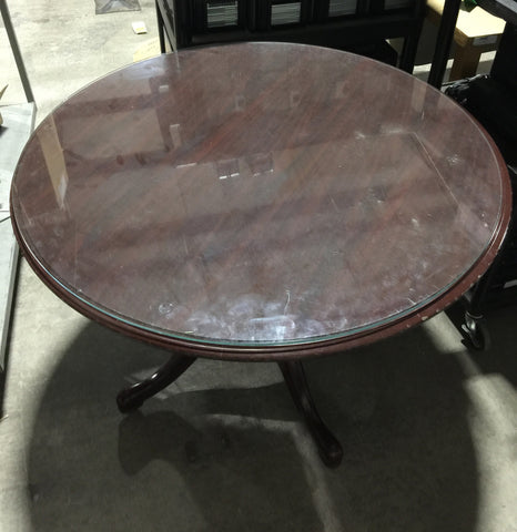 Round Wooden Table #50494