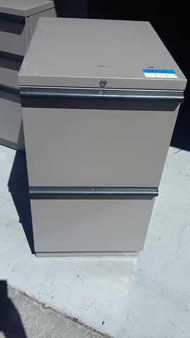 Double box drawer filing cabinet