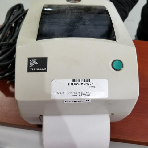 PRINTER THERMAL LABEL 3844Z (Office use) #34674-2.057861