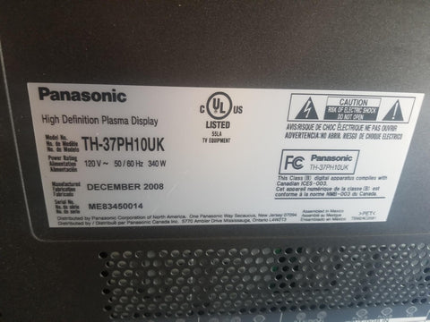 "Panasonic 37""  Monitor"