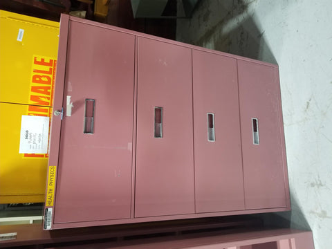 Mauve 4 drawer lateral file