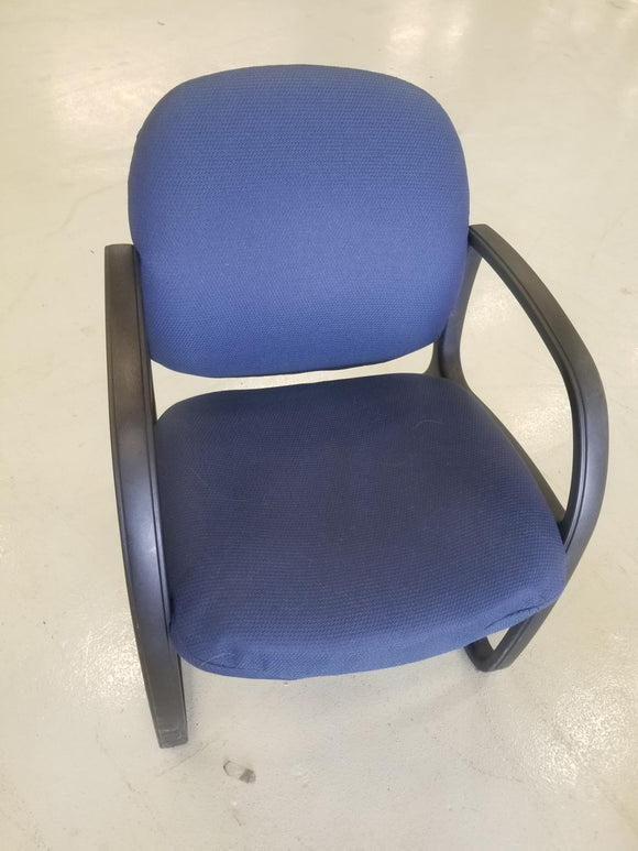 Blue Upholstered Chair