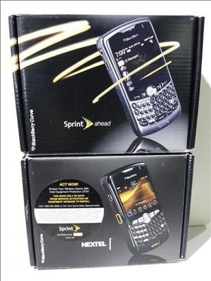 Blackberry Curve Cell Phone #35146