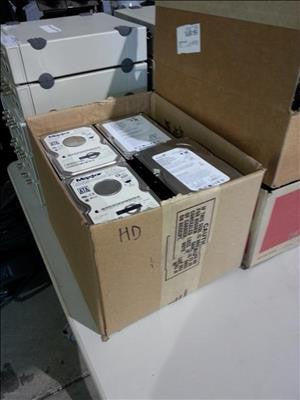 Box of Hard Drives #35869
