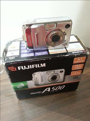 DIGITAL CAMERA A500 CDW - FINEPIX A500 #37937-2.0691