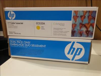 HP CC530A / CC532A Toner Cartridge *Box Opened but Never Used* #39648